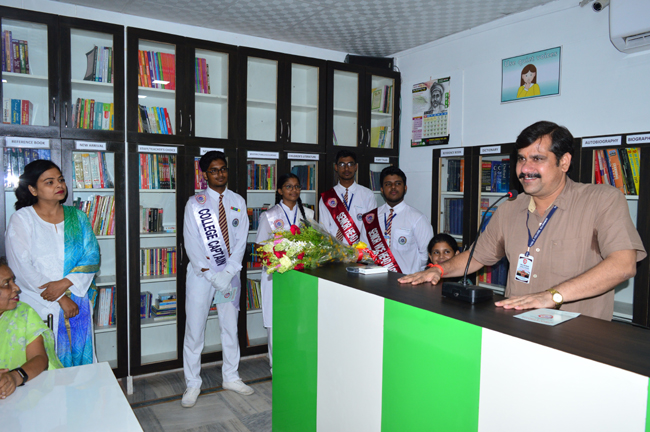 Inauguration of New Library