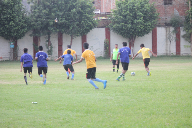 Inter House Football 2019